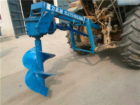 大型拖拉机打坑机钻洞