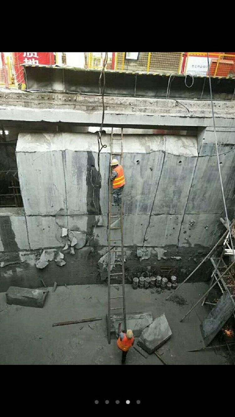 廣州擋土墻切割拆除