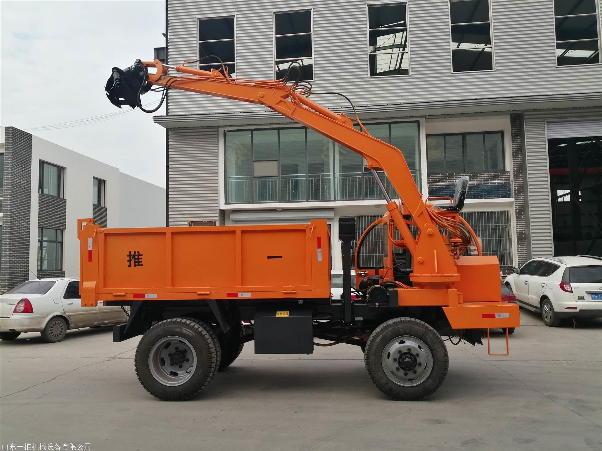 15吨随车挖抓木材挖沙挖土哪里有