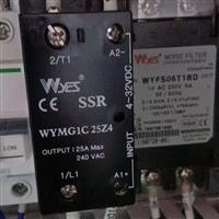 25A韩国WYCS固态继电器型号WYMG1C 25Z4导轨安装SSR