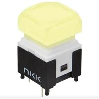 日本NKK Switches带灯小型静音开关按钮