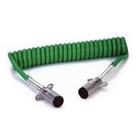SC 挂车7芯电缆线总成ISO1185-7芯ABS螺旋电缆总成/螺旋电源线