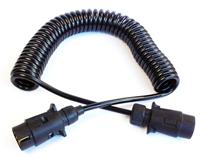 SC ISO1274螺旋电源线,电源螺旋线/半挂车ABS七芯电缆线总成