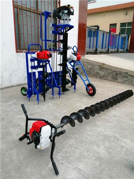 大型拖拉机挖坑机器动态性能