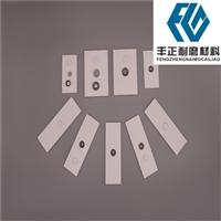 氧化铝陶瓷片 陶瓷衬板 烟道用博猫彩票陶瓷片