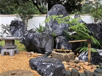江西黑山石厂家 江西黑山石价格 江西黑山石批发 江西园林置石