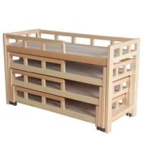 成都四层推拉床 成都儿童推拉床 成都幼儿园家具定制