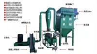 山东临沂地区再生板材加工800型磨粉机
