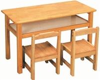 成都幼儿园学习桌 成都儿童实木学习桌 成都幼儿园家具