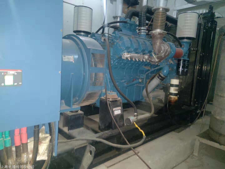 上海柴油发电机回收 二手发电机回收