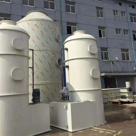 VOCs废气治理PP喷淋塔空气净化设备