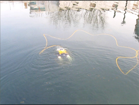 水下机器人用PUR聚氨酯电缆