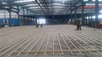 秦安县硬木篮球地板施工价格