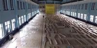 临泽县硬木篮球场地板多少一平