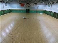 张掖市实木篮球地板厂家直销