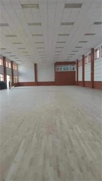 永昌县精品篮球木地板翻新工程