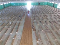 甘谷县原木篮球馆木地板材料多少钱