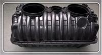 双瓮漏斗式三格化粪池