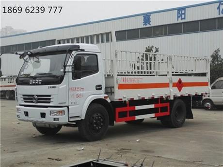 东风气瓶车,东风多利卡7.65吨气瓶亚博yabo下载,5.15米箱长气瓶车