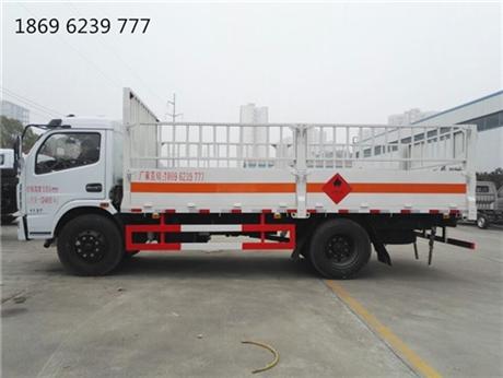 咸阳不燃易燃气体和记彩票APP,东风多利卡6.95吨仓栏气瓶车