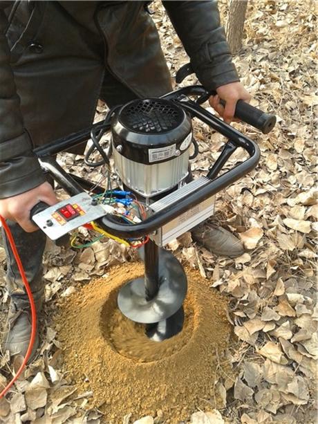 种树挖坑机果苗栽植打孔利器
