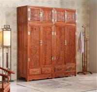 北京老榆木大衣柜價格實木衣柜