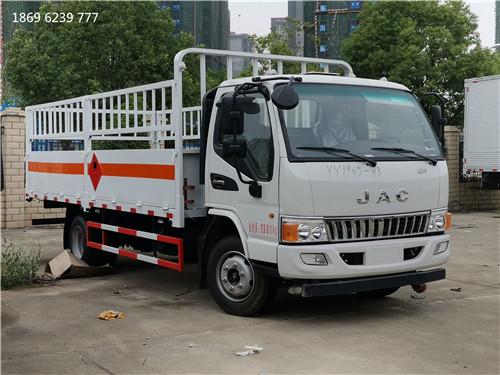 重庆煤气罐运输车,江淮栏板气瓶车多少钱,湖北虹昌达