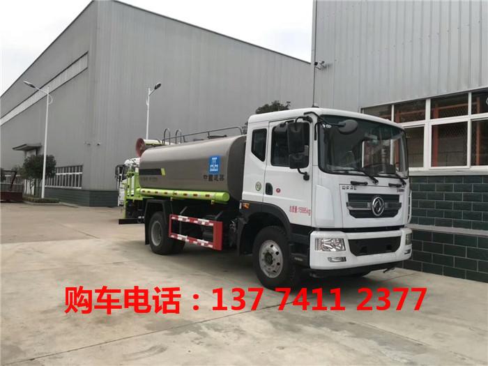 东风新款专底国五洒水车生产厂家