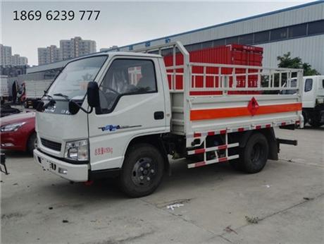 绵阳气瓶车,湖北虹昌达,4.2米栏板气瓶bwinchina注册价格