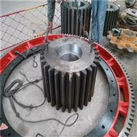 2.2米濕法加氣磚球磨機小齒輪錫基合金球面瓦42crmo材質調質