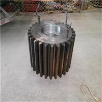 干法183球磨機小齒輪中空軸配件生產廠家測量制造