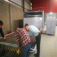 干法夹胶玻璃生产商 夹胶玻璃拆解设备  淋浴房夹胶炉  方鼎科技