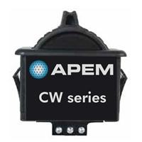 美国CH PRODUCTS拇指滚轮进口霍尔感应式操纵杆CW-B1BK1A02A0