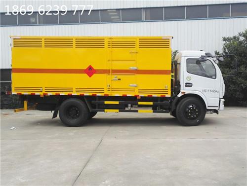 湖北虹昌达,东风易燃气体厢式运输车,吉林不燃气体车销售商