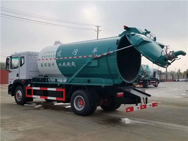 拉养殖户养殖粪便10吨畜禽粪便粪污清运车