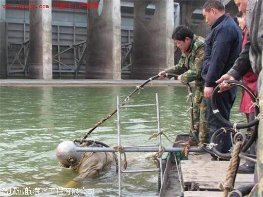 衢州水下沉管安裝,管道氣囊封堵,水下切割鋼圍堰