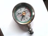 BZY-60型矿用双针耐震压力表 支架双针压力表 DN10现货供应