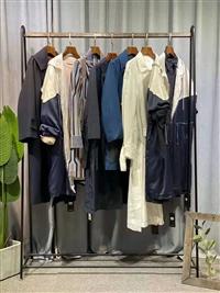 新款尾貨批發貨源 單向度連衣裙女裝外套 女裝服裝廠家批發貨源