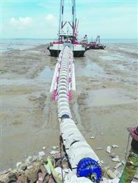 邯郸桥墩水下加固,模袋混凝土施工,水下沉管安装