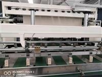 无纺布加工设备图片 棉柔巾生产加工设备 洗脸巾生产线