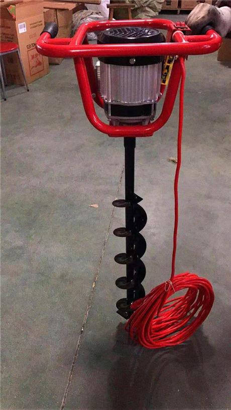 电线杆打坑机高效能的钻坑机器