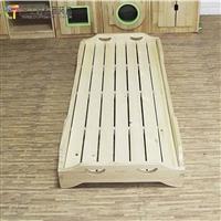 儿童实木床厂家直销 幼儿园实木专用午睡重叠床