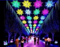 春节灯光展设计策划 大型景区灯光展设计制作厂家