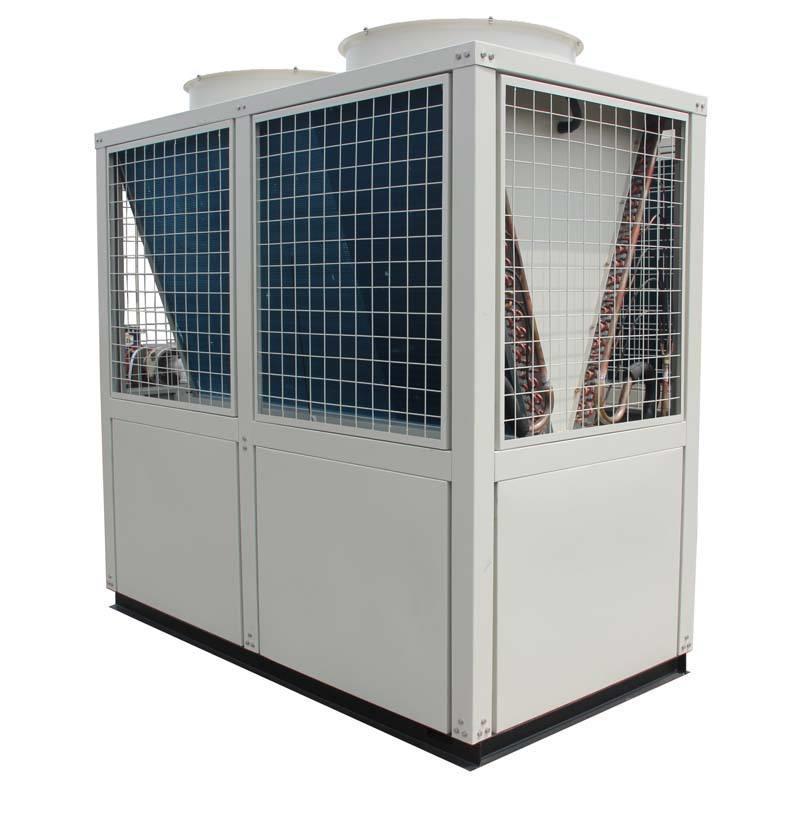 厂家生产风冷模块机组 130KW螺杆机一台代发