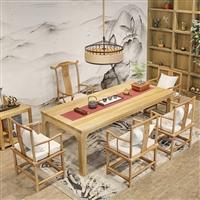 实木茶台茶桌红木家具茶桌