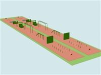 軍事百米障礙器材實體廠家 攀爬架尺寸爬繩桿標準