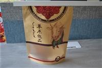 牛肉干牛皮纸食品袋定做,内蒙古牛皮纸自封袋厂家