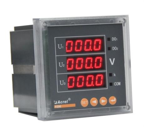 安科瑞直销PZ80-AV3三相智能电压测量仪表
