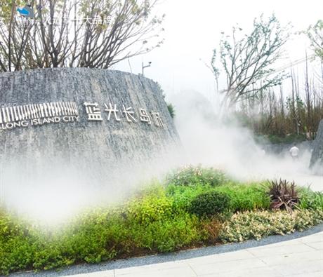 水雾造景 黔西南雾森系统安装说明
