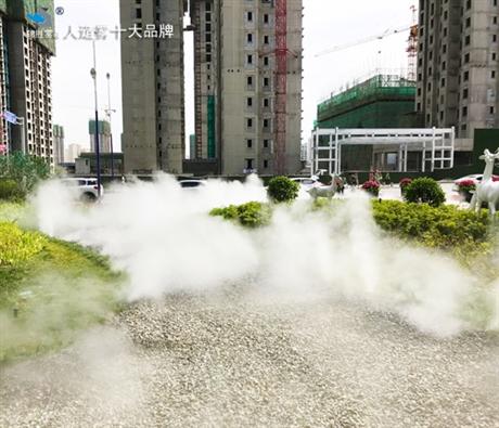 景观造雾机 黔南布景观雾化器供应销售